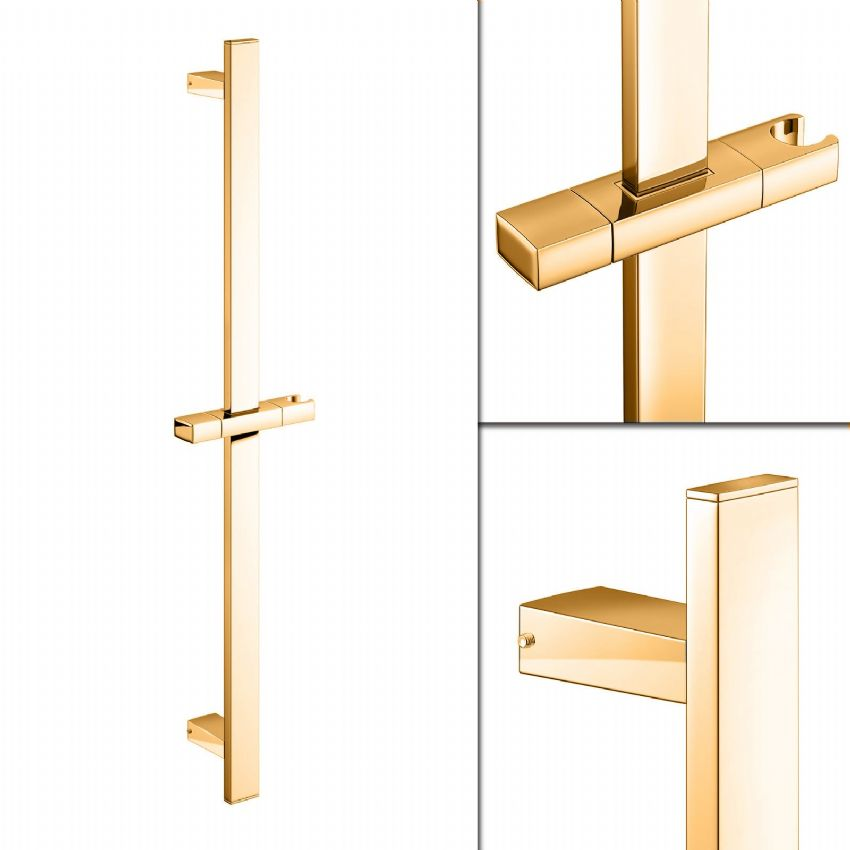 DoratO Square Shower Slide Rail